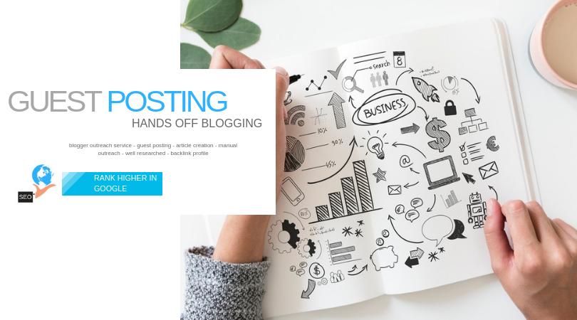 Guest Blog Posting Service